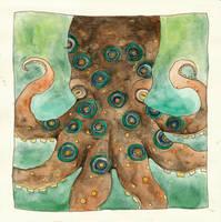 Octopus by squiglemonster