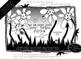 M 'n C Secret Garden Festival Flyer