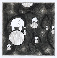 Intergalactic Space Elephants by squiglemonster