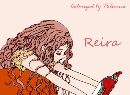 Reira with the book by Polixena13 ...
