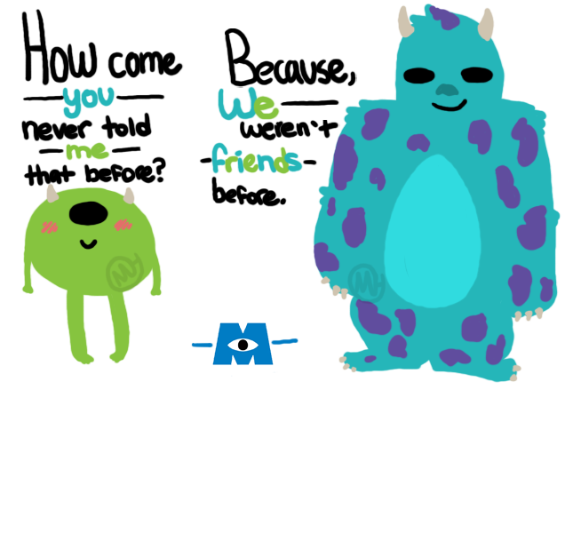 Monsters university mike and sully by coffee hearts on deviantart monsters university mike and sully by coffee hearts voltagebd Choice Image