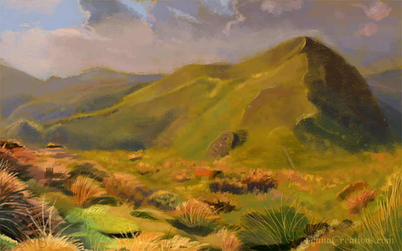 Landscape Practice by FaunaCreations