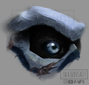Garrus Eye by JWatkinsArt