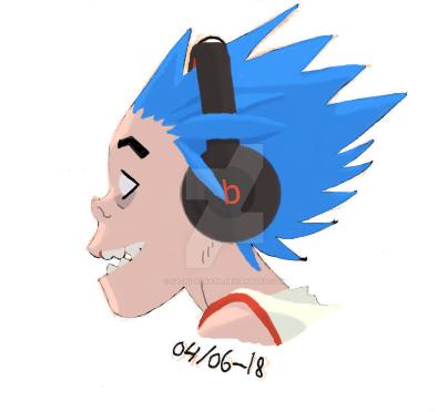 Happy Blue-boy by Sachi-Nakata