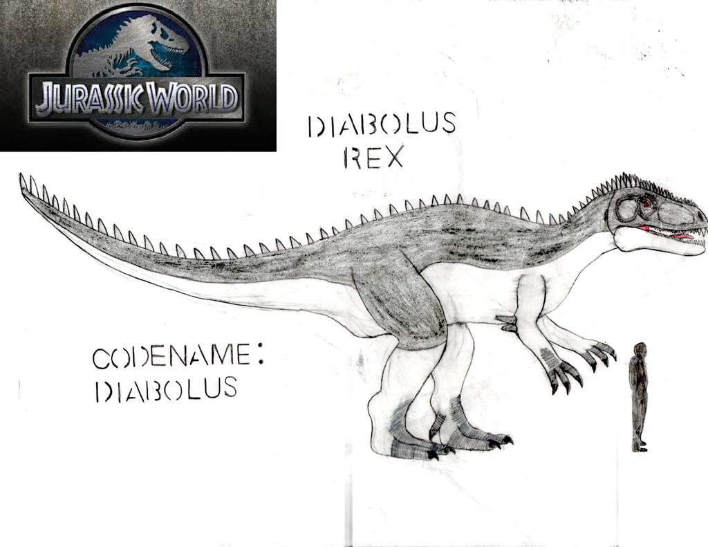 Jurassic World: Diabolus Rex by DinoBrian47 on DeviantArt