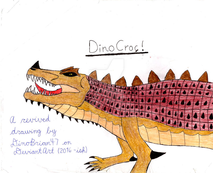Something Old, But New 2: The Croc-ening by DinoBrian47 ...