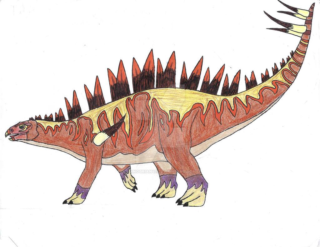 Carnivores: Jurassic - Tuojiangosaurus Concept by ...