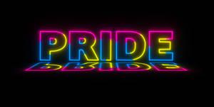 Pansexual Pride Neon