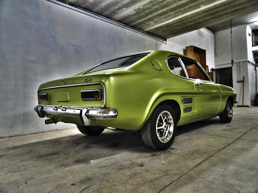 1969 Ford Capri 1600GT - Rear by ryn004 on DeviantArt