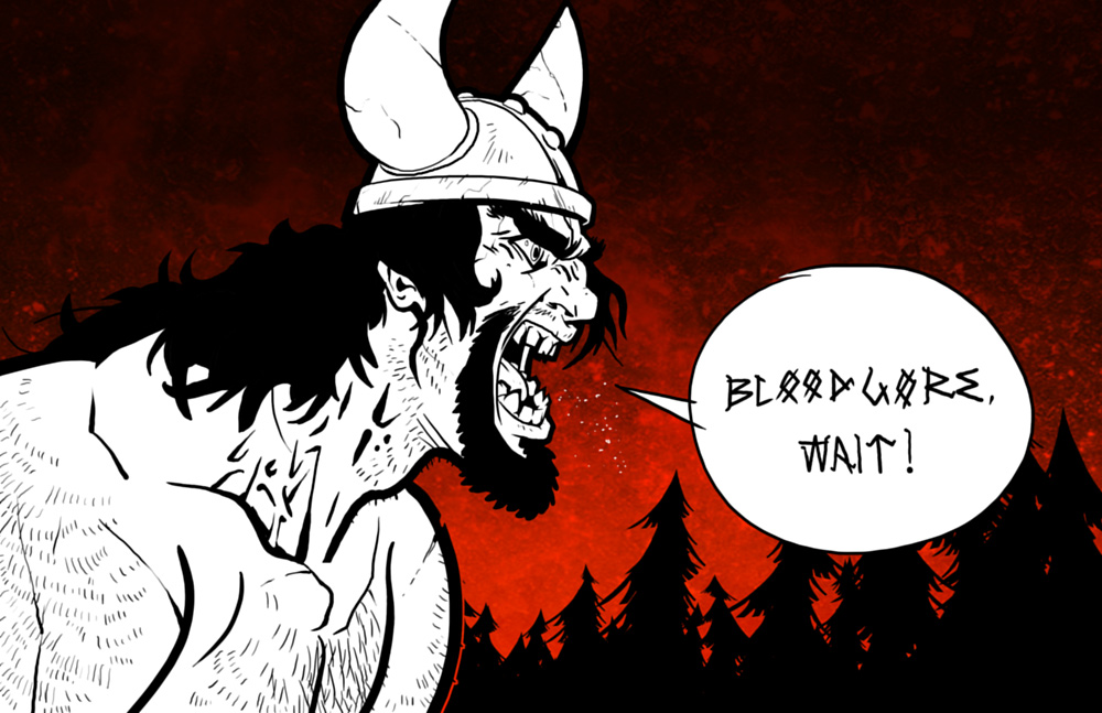 Bloodgore, wait! by woric
