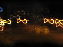 Swinging glasses by dbug