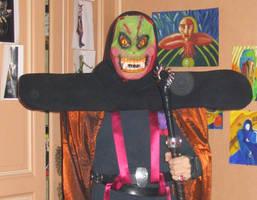 Evil halloween sorcerer by dbug