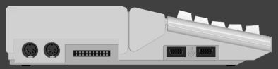 Atari STe - Side view