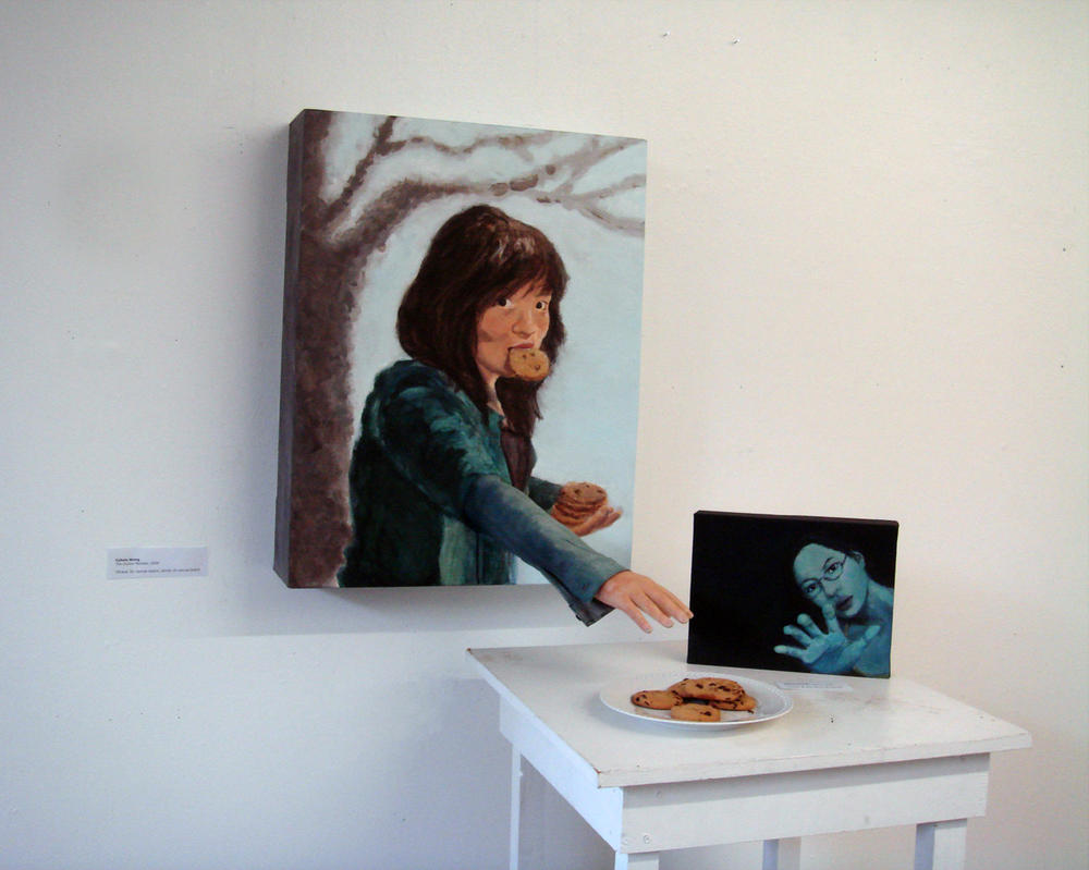 Installation of some work by TheCybil