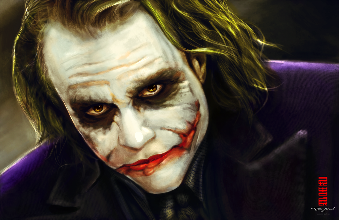 Joker by Byzwa-Dher