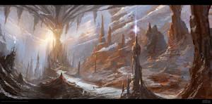 RANDOM WORLD - 2HOURS SPEEDPAINT by Byzwa-Dher