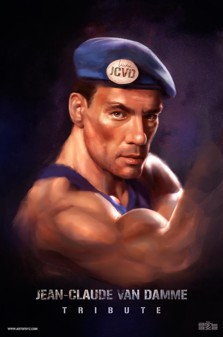 Jean-Claude Van Damme Tribute by Byzwa-Dher