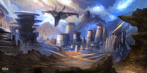 DEPARTURE - Sci-fi Environment / Concept Art / Tim