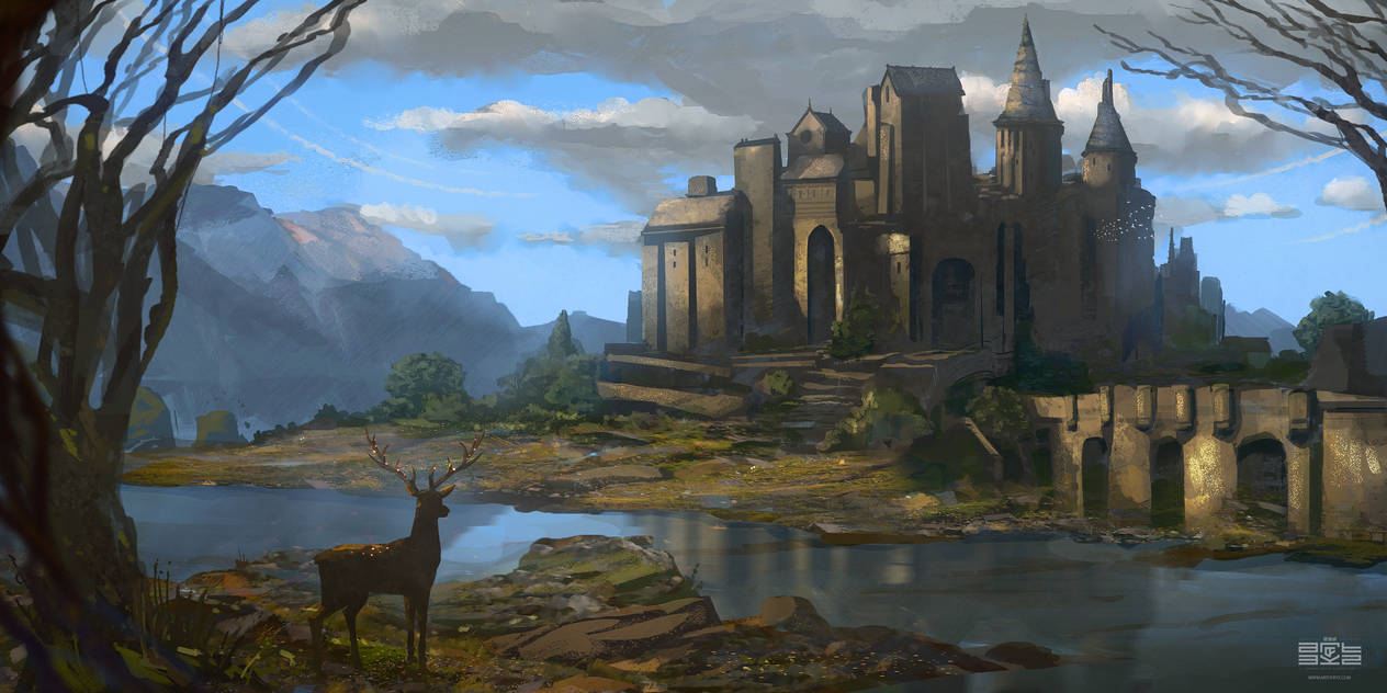 CASTLE RIVER by Byzwa-Dher