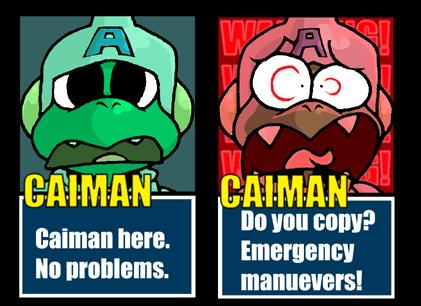 Caiman Here by EnterPraiz