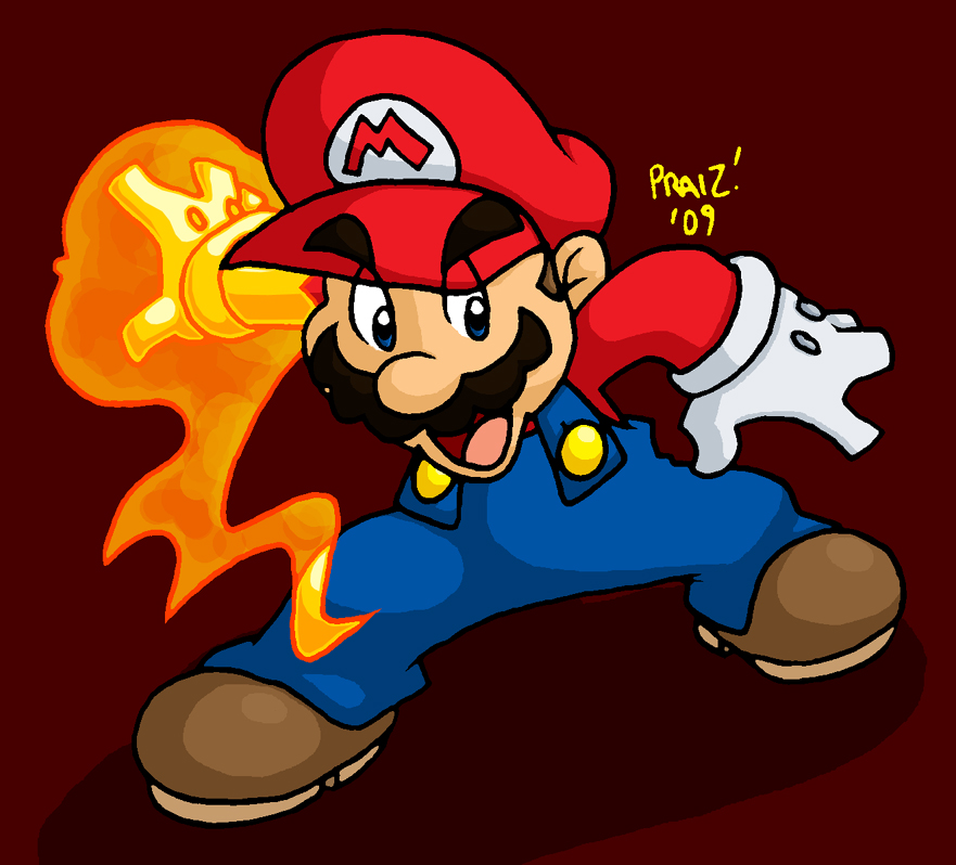 Red: Mario by EnterPraiz