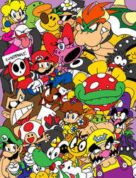 The Mario Stack by EnterPraiz