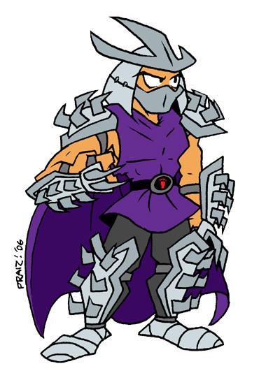 The Shredder by EnterPraiz
