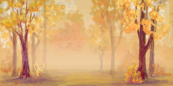 Autumn's fog by Kiarnight