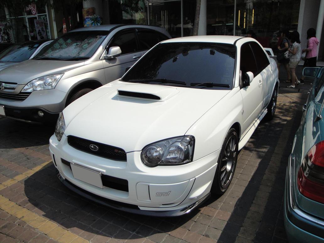 White Impreza II by gupa507