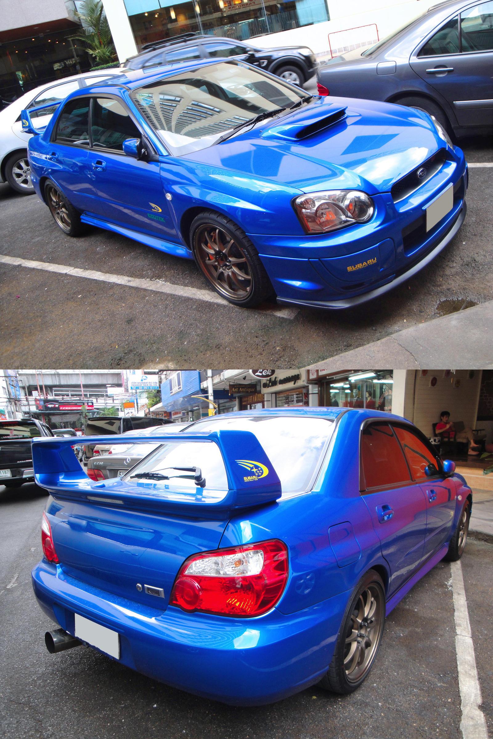 Moar Blue Impreza by gupa507