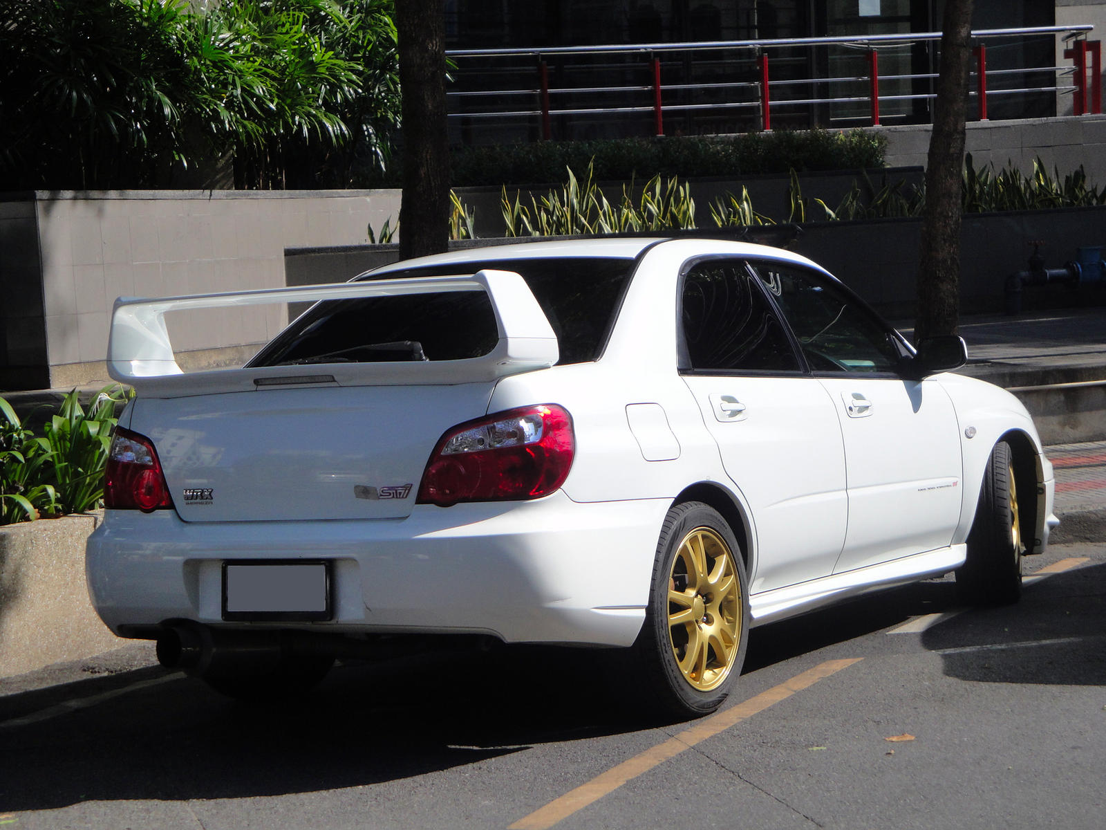 White Impreza IX by gupa507