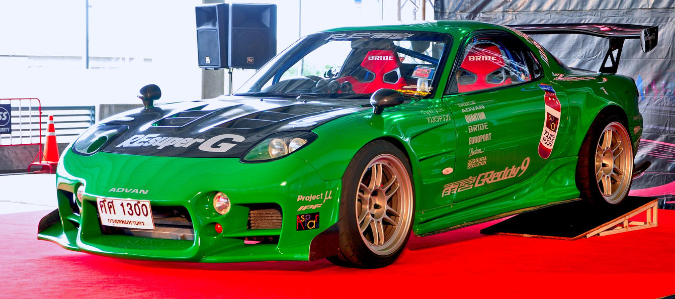 Green RX-7 by gupa507