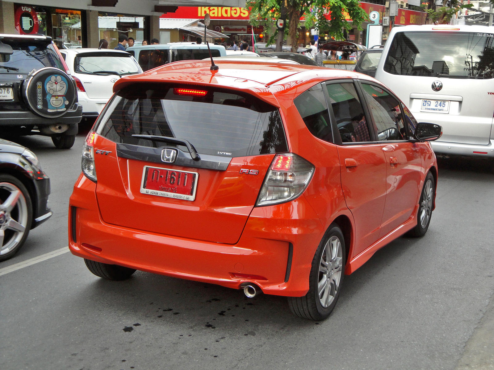 My RS Rear BUMPER JDM Latest Version  Unofficial Honda FIT Forums