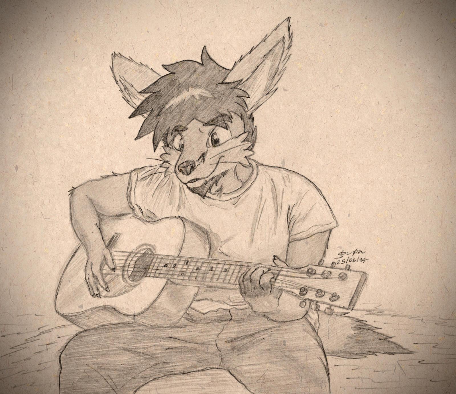 Guitarist by gupa507