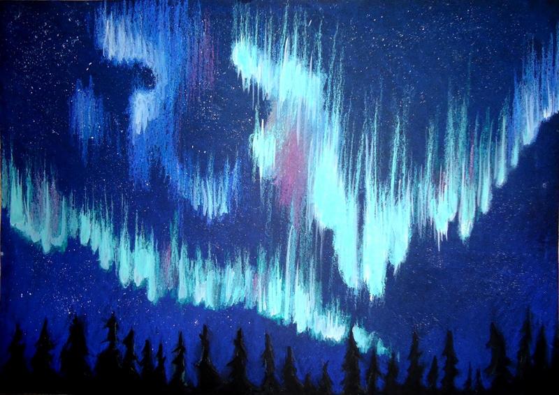 Aurora Borealis by munchengirl