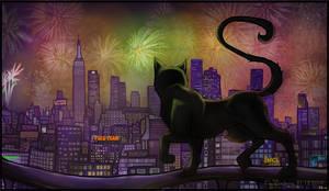 Black Cat by Varjotuuli