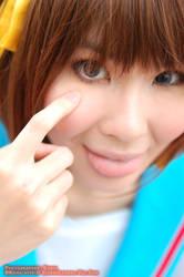 Suzumiya Haruhi by elpheal