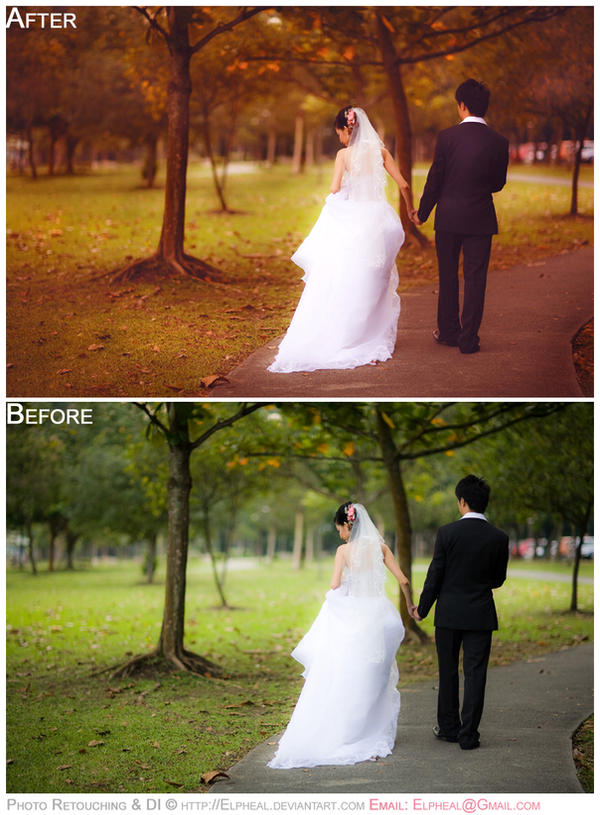 Photo Manipulation: Weddings 5 by elpheal