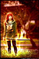 Her Flame will burn your soul by elpheal
