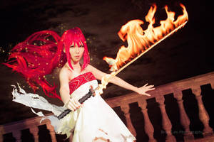 Shakugan no Shana Final: Flame blade by elpheal