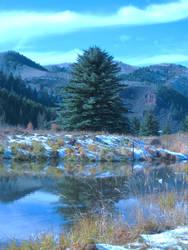 Sylvan Lake by The-MoonWytchCottage