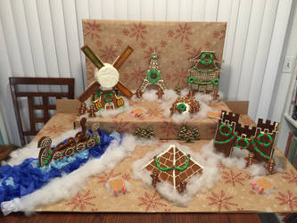 It's a Small Gingerbread World by The-MoonWytchCottage