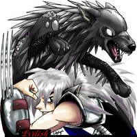 Stonefur Werewolf by Emchromatic