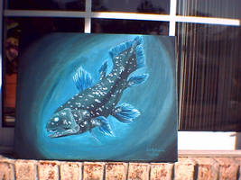 Coelacanth of the Deep by Emchromatic