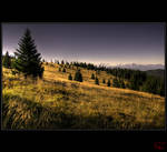 Up in the hills by Gerdes