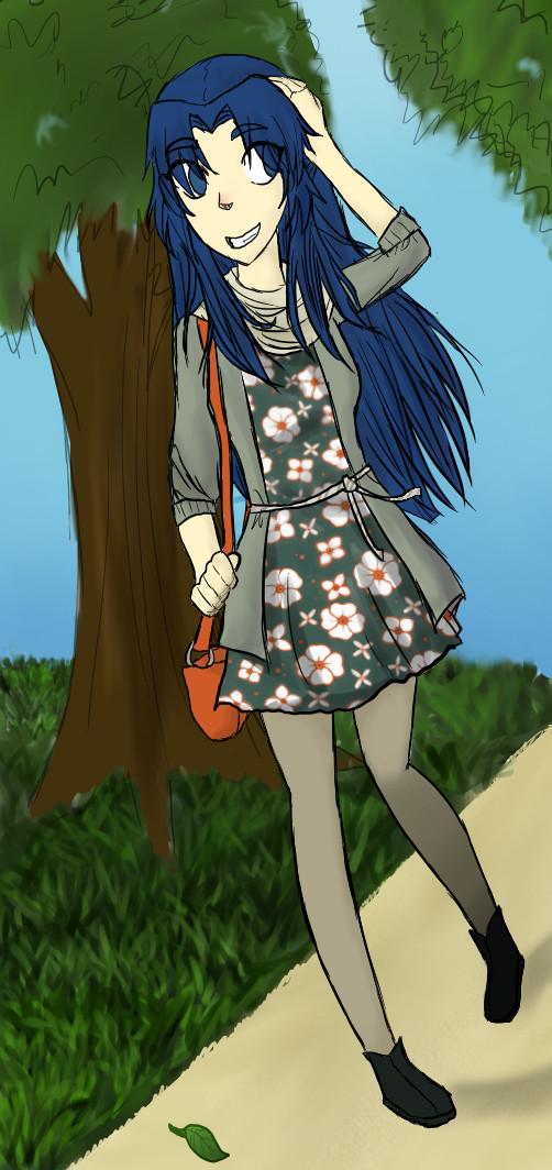 TMoHS: Ryoko Asakura by CartoonConspiracy