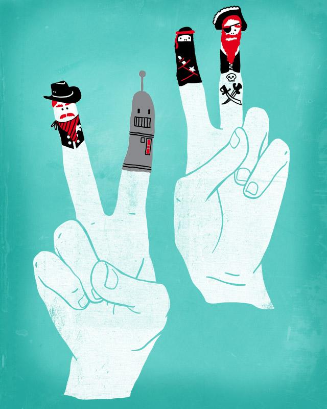 Fingerbattles by rockst3ady