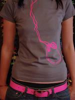 Pink Headphones by rockst3ady