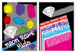 Neon Rave Kids Flyer I