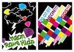 Neon Rave Kids Flyer II by rockst3ady